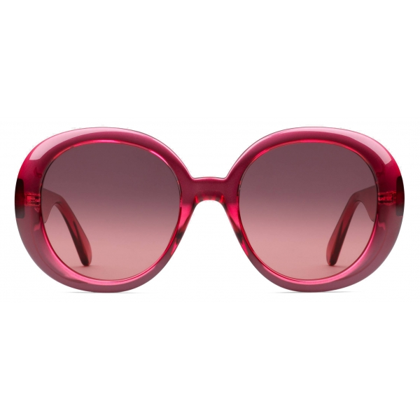 Gucci - Occhiali da Sole Rotondi - Rosa - Gucci Eyewear