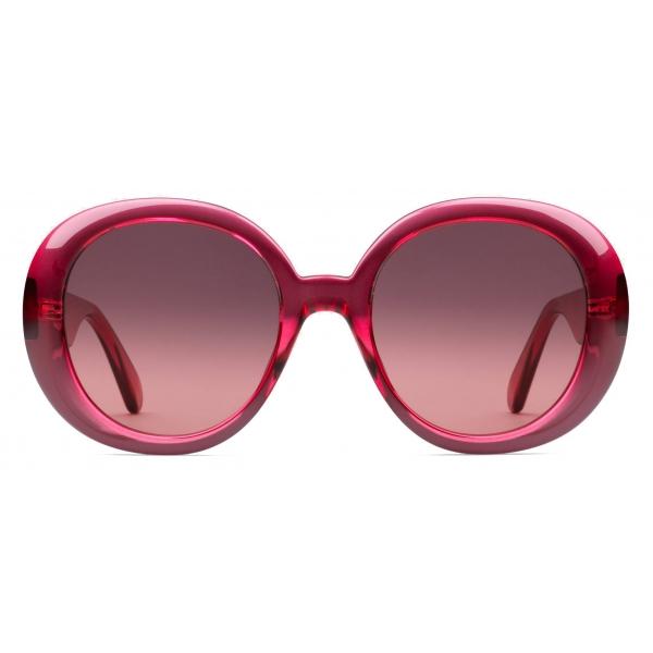 Gucci - Round Sunglasses - Pink - Gucci Eyewear