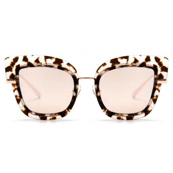 No Logo Eyewear - NOL81031 Sun - Havana Chiara e Oro - Occhiali da Sole