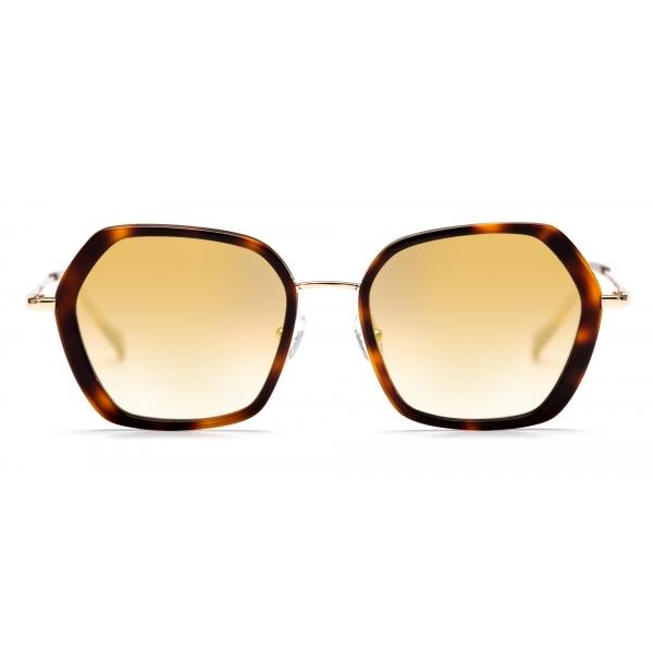 No Logo Eyewear - NOL81033 Sun - Havana e Oro - Occhiali da Sole
