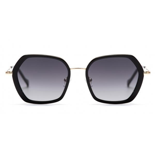 No Logo Eyewear - NOL81033 Sun - Nero e Oro - Occhiali da Sole