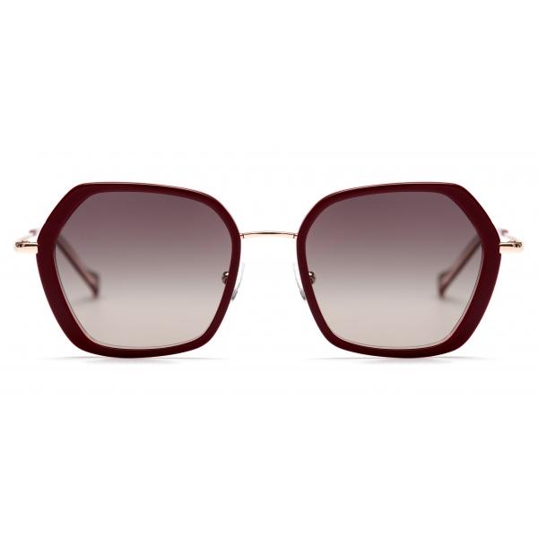 No Logo Eyewear - NOL81033 Sun - Bordeaux e Oro - Occhiali da Sole