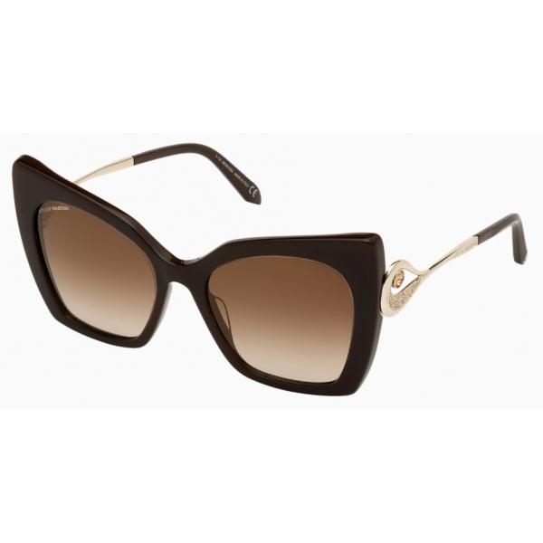 Swarovski - Occhiali da Sole Tigris - SK0271-P 48G - Marrone - Occhiali da Sole - Swarovski Eyewear