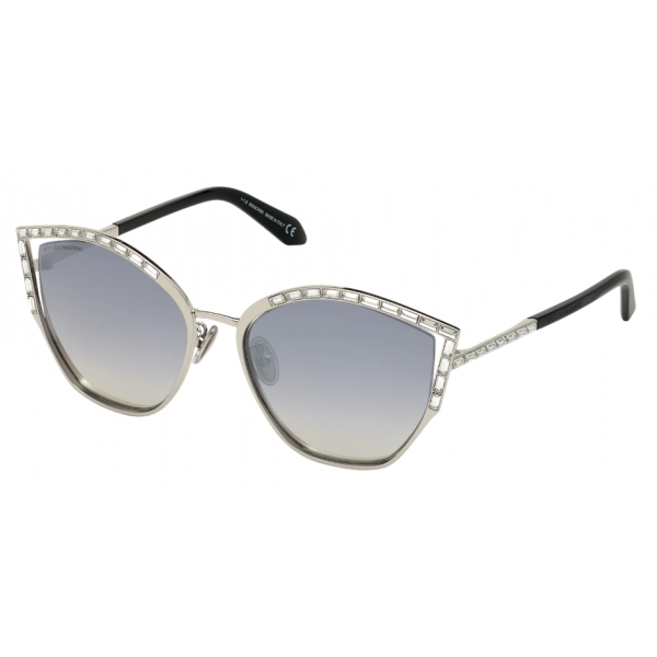 Swarovski - Fluid Sunglasses - SK0274-P-H 16C - Gray - Sunglasses - Swarovski Eyewear