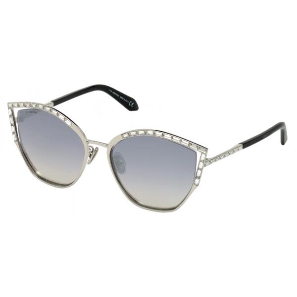 Swarovski - Occhiali da Sole Fluid - SK0274-P-H 16C - Grigio - Occhiali da Sole - Swarovski Eyewear