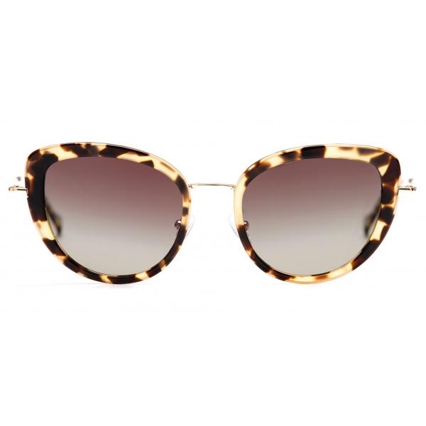 No Logo Eyewear - NOL81035 Sun - Havana Chiara e Oro - Occhiali da Sole