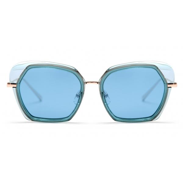 No Logo Eyewear - NOL81045 Sun - Azzurro - Occhiali da Sole