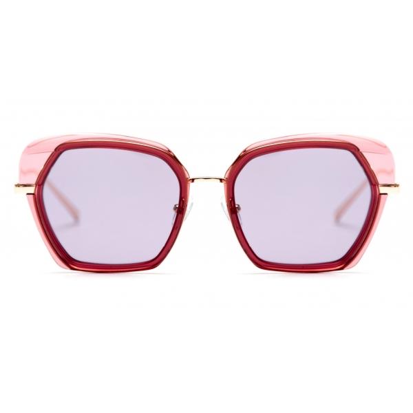 No Logo Eyewear - NOL81045 Sun - Bordeaux - Occhiali da Sole