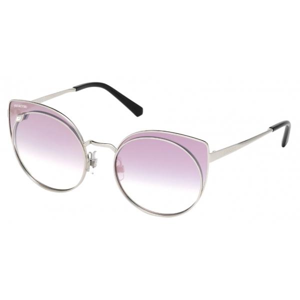 Swarovski - Swarovski Sunglasses - SK0173 - 16C - Gray - Sunglasses - Swarovski Eyewear