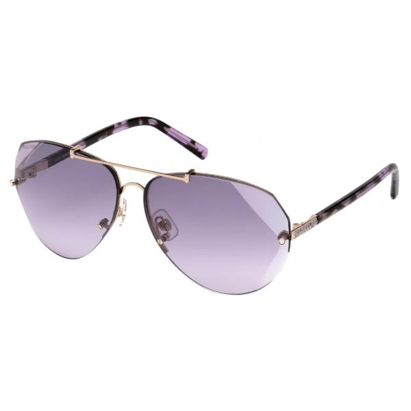 Swarovski - Occhiali da Sole Swarovski - SK0134 28Z - Viola - Occhiali da Sole - Swarovski Eyewear