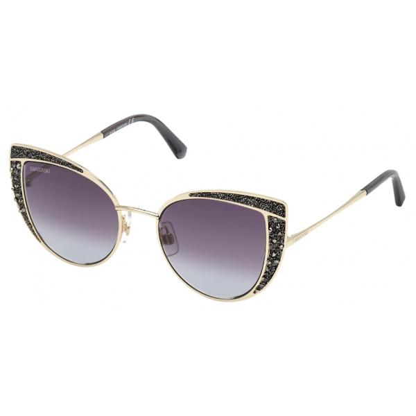Swarovski - Swarovski Sunglasses - SK0282 32B - Black - Sunglasses - Swarovski Eyewear