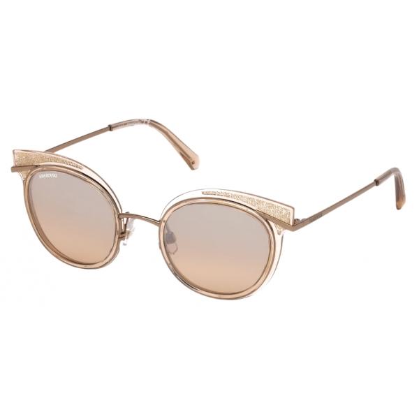 Swarovski - Occhiali da Sole Swarovski - SK0169 - 72G - Pesca - Occhiali da Sole - Swarovski Eyewear