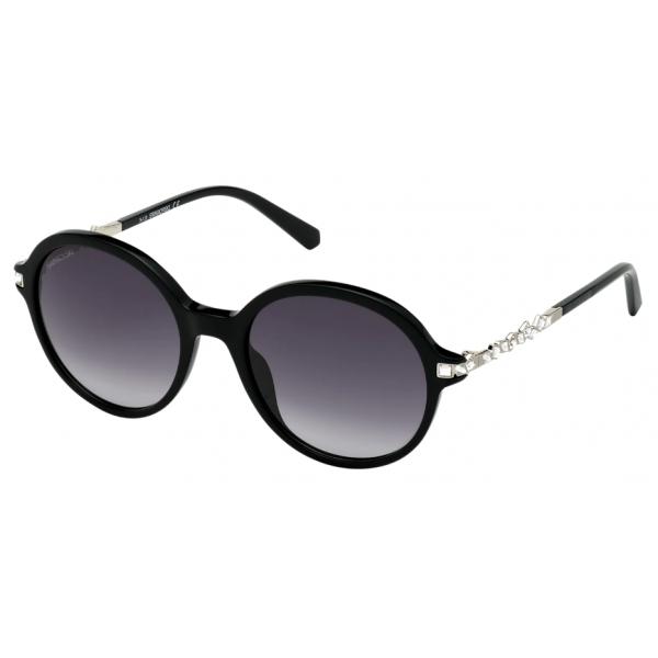 Swarovski - Occhiali da Sole Swarovski - SK264 - 01B - Nero - Occhiali da Sole - Swarovski Eyewear