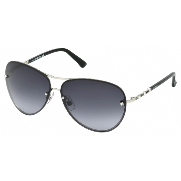 Swarovski - Fascinatione Sunglasses - SK0118 17B - Black - Sunglasses - Swarovski Eyewear