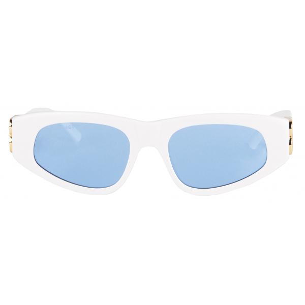 Balenciaga - Dinasty D-Frame Sunglasses - White - Sunglasses - Balenciaga Eyewear