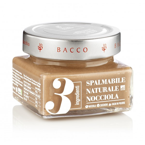 Bacco - Tipicità al Pistacchio - Natural Cream 3 Ingredients Hazelnut - Artisan Spreadable Creams - 150 g