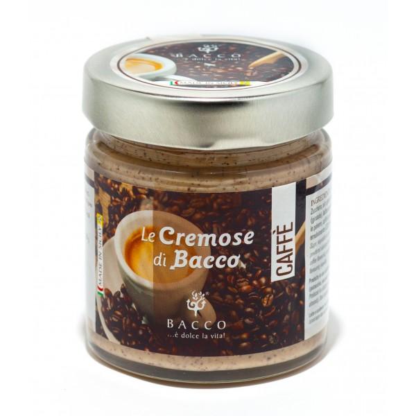 Bacco - Tipicità al Pistacchio - Le Cremose di Bacco - Caffè - Creme Spalmabili Artigianali - 190 g