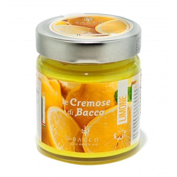 Bacco - Tipicità al Pistacchio - Le Cremose di Bacco - Limone - Creme Spalmabili Artigianali - 190 g