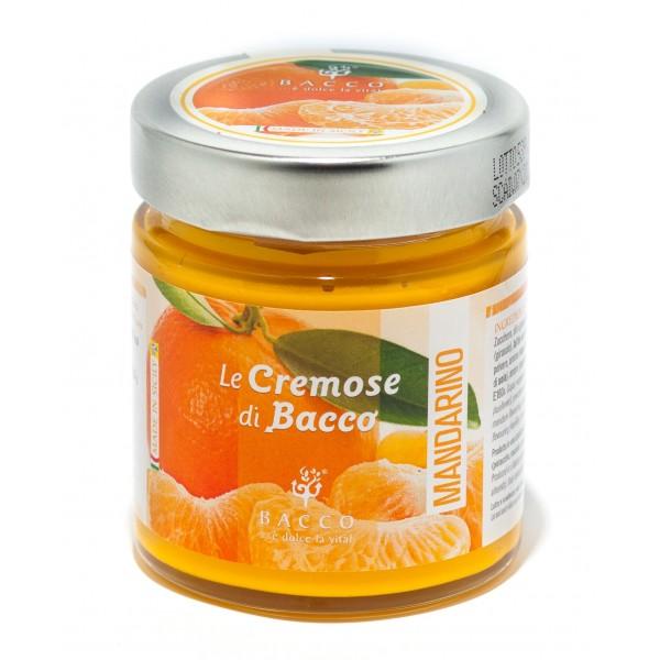 Bacco - Tipicità al Pistacchio - Le Cremose di Bacco - Mandarino - Creme Spalmabili Artigianali - 190 g