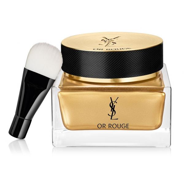 Yves Saint Laurent - Or Rouge Mask-In-Crème - Migliora il Naturale Processo di Recupero Notturno della Pelle - Luxury - 50 ml