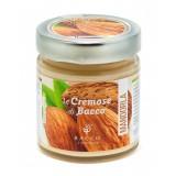 Bacco - Tipicità al Pistacchio - Le Cremose di Bacco - Mandorla - Creme Spalmabili Artigianali - 190 g