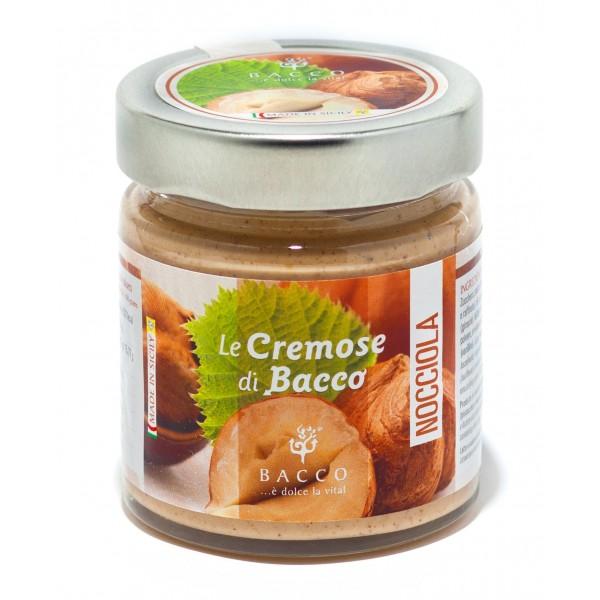 Bacco - Tipicità al Pistacchio - Le Cremose di Bacco - Nocciola - Creme Spalmabili Artigianali - 190 g