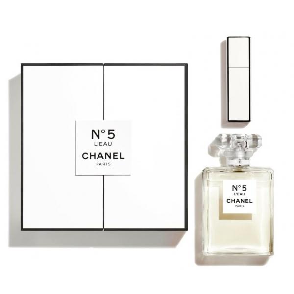 Chanel - N°5 - Coffret N°5 l'Eau 100 ml + Mini Twist e Spray 7 ml - Fragranze Luxury