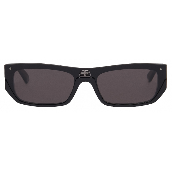 Balenciaga - Occhiali da Sole Shield Rectangle - Nero - Occhiali da Sole - Balenciaga Eyewear