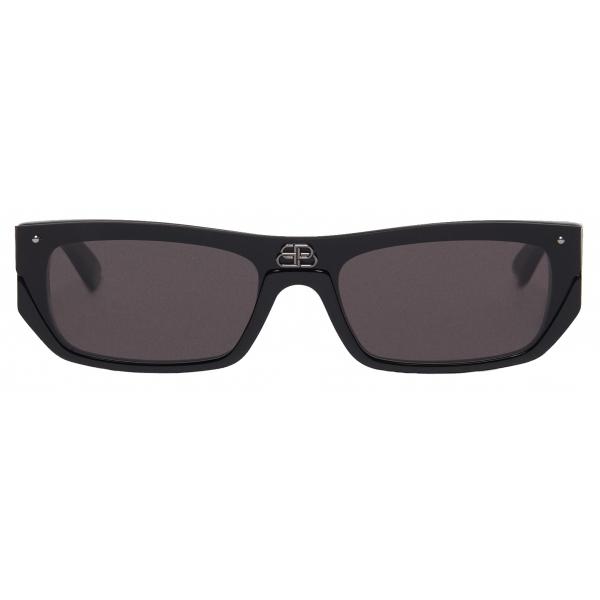 Balenciaga - Shield Rectangle Sunglasses - Black - Sunglasses - Balenciaga Eyewear