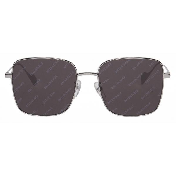 Balenciaga - Ghost Square Sunglasses - Silver Black - Sunglasses - Balenciaga Eyewear
