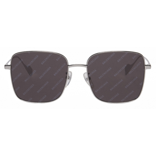 Balenciaga - Occhiali da Sole Ghost Square - Nero Argento - Occhiali da Sole - Balenciaga Eyewear