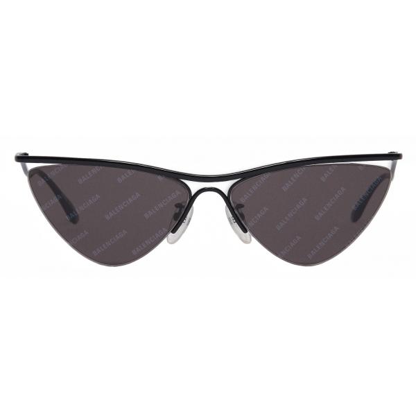 Balenciaga - Occhiali da Sole Curve Cat - Nero - Occhiali da Sole - Balenciaga Eyewear