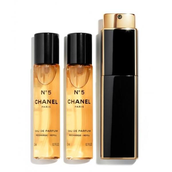 Chanel - N°5 - Eau De Parfum Vaporizzatore Da Borsetta - Fragranze Luxury - 3x20 ml