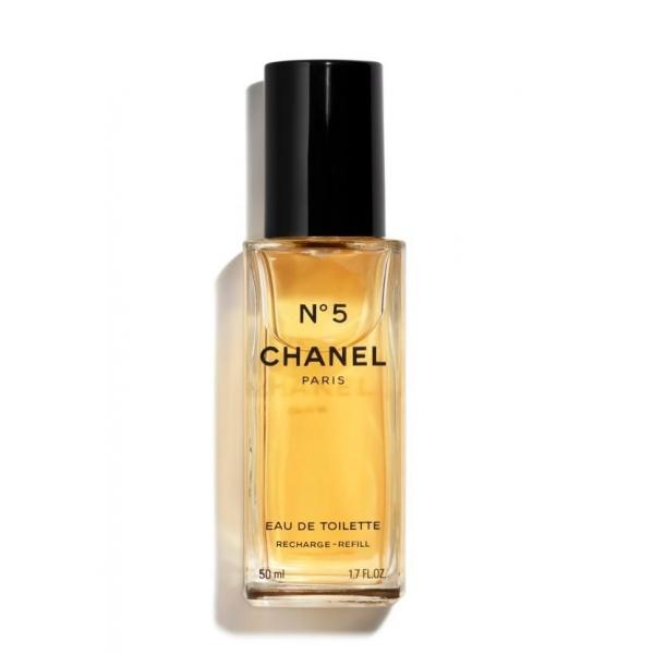 Chanel - N°5 - Eau De Toilette Ricarica Vaporizzatore Ricaricabile - Fragranze Luxury - 50 ml