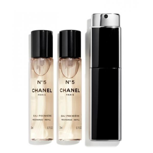 Chanel - N°5 - Eau Première Vaporizzatore Da Borsetta - Fragranze Luxury - 3x20 ml