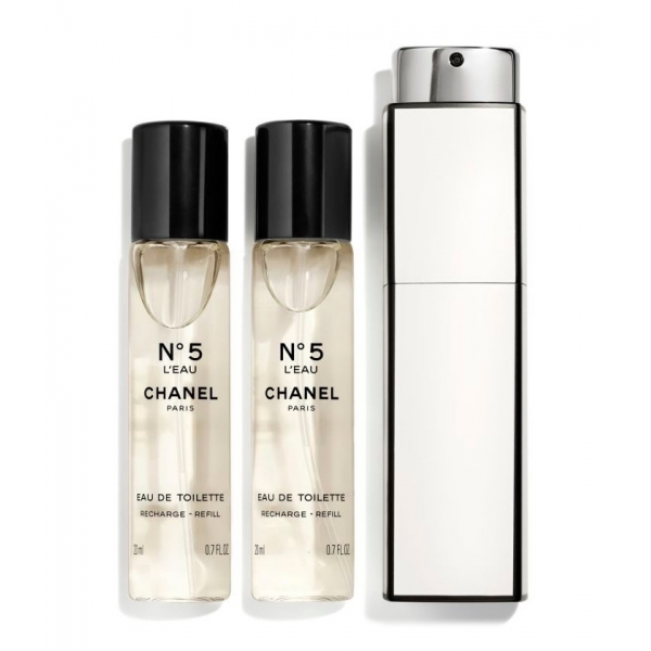 Chanel - N°5 - Eau De Toilette Twist & Spray - Luxury Fragrances - 3x20 ml