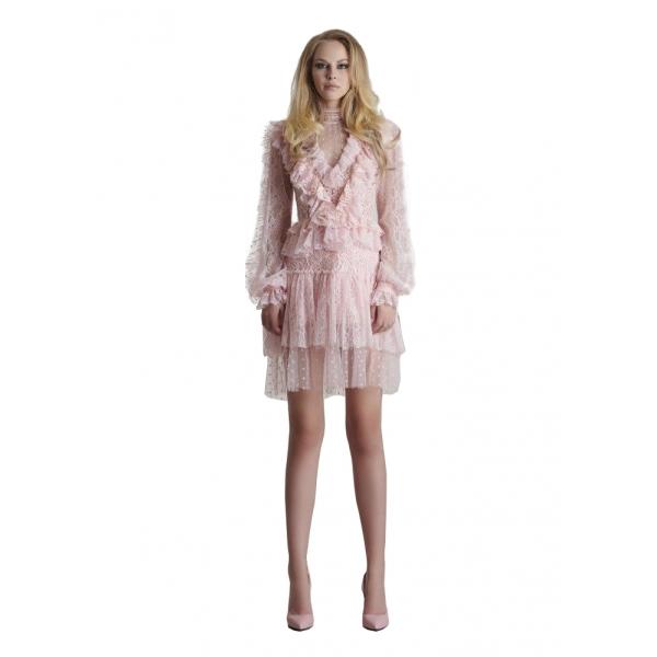 Danilo Forestieri - Abito Manica Lunga - Abito - Haute Couture Made in Italy - Luxury Exclusive Collection