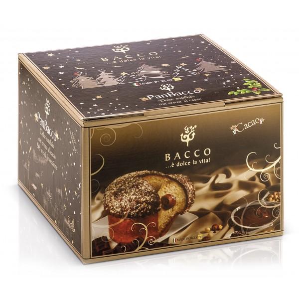 Bacco - Tipicità al Pistacchio - PanBacco with Cocoa - Artisan Panettone - 900 g