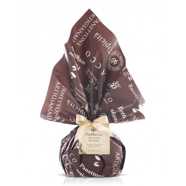 Bacco - Tipicità al Pistacchio - PanBacco Retrò al Cacao - Panettone Artigianale - 1000 g