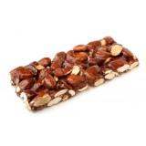 Bacco - Tipicità al Pistacchio - Torrone Duro di Mandorle di Sicilia - Torrone Artigianale - 100 g