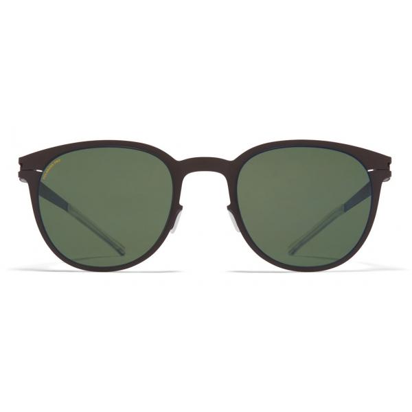 Mykita - Truman - NO1 - Dark Brown Green - Metal Collection - Sunglasses - Mykita Eyewear