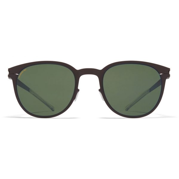 Mykita - Truman - NO1 - Marrone Scuro Verde - Metal Collection - Occhiali da Sole - Mykita Eyewear