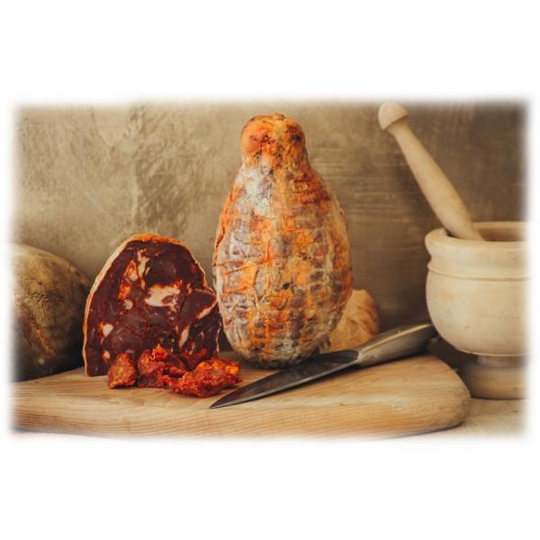 Bontà di Fiore - Ventricina del Vastese - Mezza Ventricina - Presidio Slow Food - 600 g