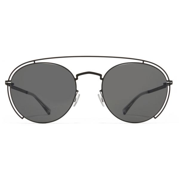 Mykita - MMCRAFT009 - Mykita & Maison Margiela - Black Grey - Metal Collection - Sunglasses - Mykita Eyewear