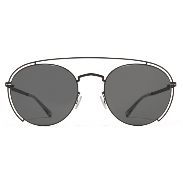Mykita - MMCRAFT009 - Mykita & Maison Margiela - Nero Grigio - Metal Collection - Occhiali da Sole - Mykita Eyewear