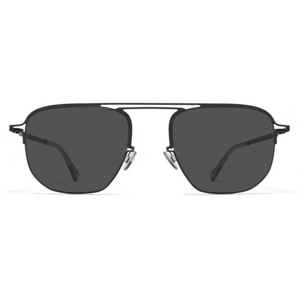 Mykita - MMCRAFT013 - Mykita & Maison Margiela - Black Dark Grey - Metal Collection - Sunglasses - Mykita Eyewear