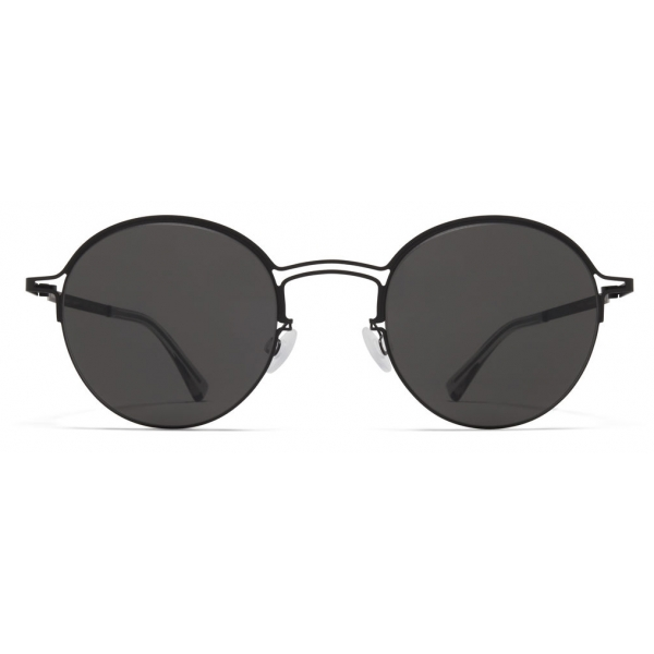 Mykita - MMCRAFT014 - Mykita & Maison Margiela - Nero Grigio Scuro - Metal Collection - Occhiali da Sole - Mykita Eyewear