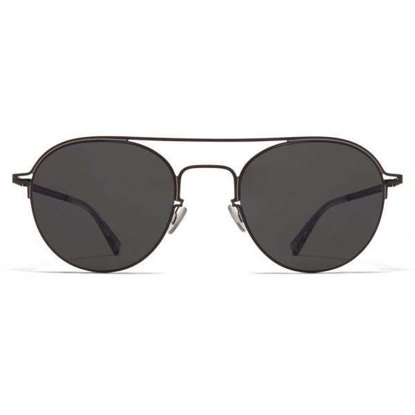 Mykita - MMCRAFT015 - Mykita & Maison Margiela - Black Dark Grey - Metal Collection - Sunglasses - Mykita Eyewear