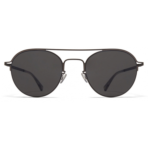 Mykita - MMCRAFT015 - Mykita & Maison Margiela - Nero Grigio Scuro - Metal Collection - Occhiali da Sole - Mykita Eyewear