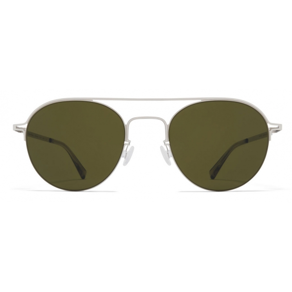 Mykita - MMCRAFT015 - Mykita & Maison Margiela - Argento Verde - Metal Collection - Occhiali da Sole - Mykita Eyewear